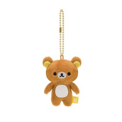 Rilakkuma, Small Plush Charm, Brown, MR80101 image here