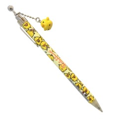 Rilakkuma, kiiroitori rilakkuma theme with mascot mechanical pencil, Yellow, PN80901 image here