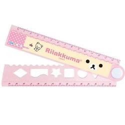Rilakkuma,Korilakkuma Ruler,Pink,SQ73701 image here