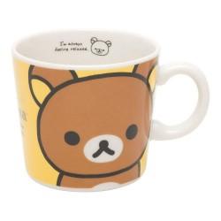 Rilakkuma, Yellow/White Mug Cup, TK88201 image here