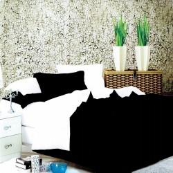 Beverly's Set of 4 Bedsheet BlackWhite-King image here