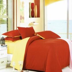 Beverly's Set of 4 Bedsheet DarkMelonYellow-Single image here