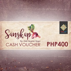 PHP 400 WORTH VOUCHER image here