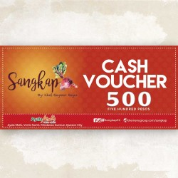 PHP500 SANGKAP WORTH VOUCHER | AYALA MALLS VERTIS NORTH BRANCH image here