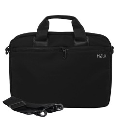 "Halo Gianna Laptop Bag 14""-Blk image here"