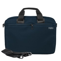 "Halo Gianna Laptop Bag 14""-Blu image here"