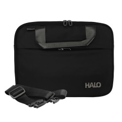 "Halo Gwen Lapto Bag 12""-Blk image here"