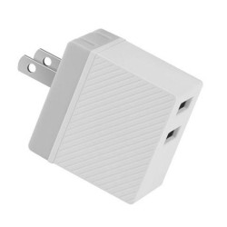 AD19-Hoco Haoke 2 Ports Charger 2.4A(C23A)-Wht image here