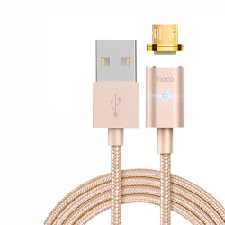 J515-Hoco Magnetic Micro Cable (U16)-Gold image here