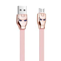 J520-Hoco Steelman Micro Cable(U14)-R.Gold image here