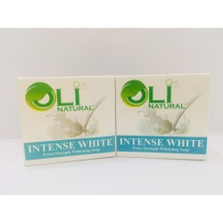 OLI NATURAL INTENSE WHITE FACE & BODY SOAP SET B,Oli Natural Intense White Soap image here
