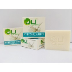 OLI NATURAL INTENSE WHITE FACE & BODY SOAP,Oli Natural 3 Intense White Soap image here