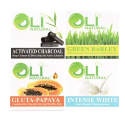 Oli Natural 4 variants,Oli4in1soap image here