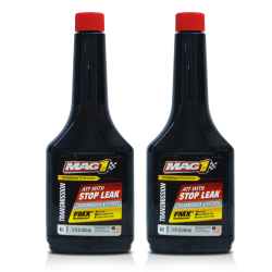 MAG 1 Automatic Transmission Fluid with Stop Leak 12oz (354ml) PN177 (Pack of 2) image here
