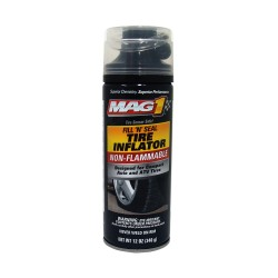 MAG 1 Fill & Seal Non-Flammable Tire Inflator with Airhose 12oz (354ml) PN#412 image here
