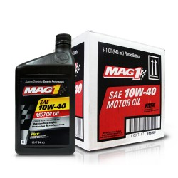 MAG 1 10W40 API SN Motor Oil for Gasoline Engines 1qt (946ml), 1 case of 6 qts PN#61650 image here