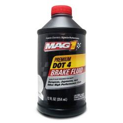 MAG 1 DOT-4 Premium Brake Fluid 12oz (354ml) PN#126 image here