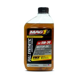 MAG 1 5W30 European Formula API SM ACEA C3 Full Synthetic Oil for Gasoline and Diesel Engines 1qt (946ml) PN#63278 image here