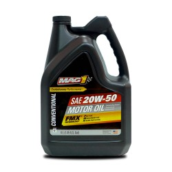 MAG 1 20W50 API SN Motor Oil for Gasoline Engines 4L PN#63581 image here