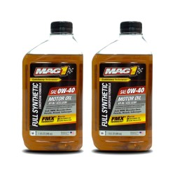 MAG 1 Full Synthetic European 0W-40 A3/B4 Motor Oil 1qt (946ml), pack of 2 PN#65661-2 image here