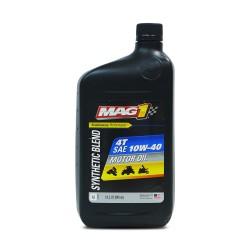 MAG 1 10W40 JASO MA2 API SL Synthetic Blend 4T Oil 1qt (946ml) PN#62971 image here
