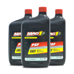 MAG 1 Premium Power Steering Fluid 1qt 946ml PN810 Pack of 3 image here