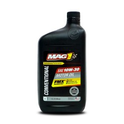 MAG 1 10W30 API SN Motor Oil for Gasoline Engines 1qt (946ml) PN#61648 image here