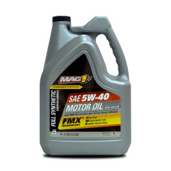 MAG 1 5W40 European Formula API SN ACEA A3/B4 Full Synthetic Oil for Gasoline and Diesel Engines 4L PN#62838 image here