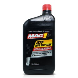 MAG 1 Automatic Transmission Fluid with Stop Leak 1qt (946ml) PN#909 image here