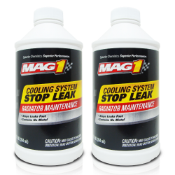 MAG 1 Radiator and Cooling System Stop Leak 12oz (354ml) PN332 (Pack of 2) image here