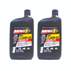 MAG 1 4T 20W50 Motor Oil 1 qt PN#64210 Pack of 2 image here