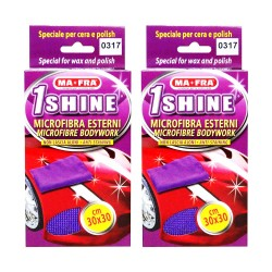 Ma-Fra Panno 1Shine Externi Microfibre for Exteriors O317 (Pack of 2) image here