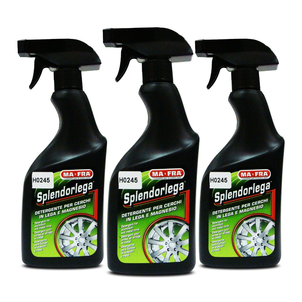Ma-Fra Splendorlega Aluminium & Magnesium Wheel Cleaner 500ml HO245 (Pack of 3) image here