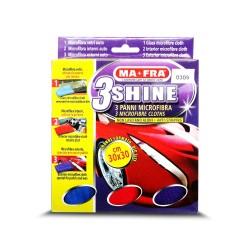Ma-Fra 3Shine for Glass, Interior & Exterior Microfibre Cloth Kit O309 image here