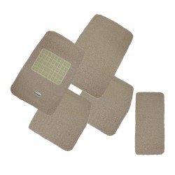 Floorguard Coil Mat w/ Spike Back 5pcs/set, Beige, #FGM-A108-12BE image here