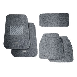 Floorguard Coil Mat w/ Spike Back 5pcs/set, Grey, #FGM-107-GY image here