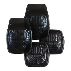 Floorguard PVC High Side Mat 4pcs/set, Black #FGM-5500P-BK image here