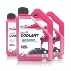PRO-99 Long Life Radiator Coolant (Pink) 2L PRC-4041-2, pack of 3 image here