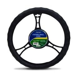 Trenz Steering Wheel Handle Cover 38cm Diameter TSHC-H2071-38-BK image here