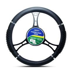 Trenz Steering Wheel Handle Cover 40cm Diameter TSHC-H759-40-BK image here