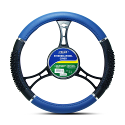 Trenz Steering Wheel Handle Cover 38cm Diameter TSHC-H759-38-BK/BL image here