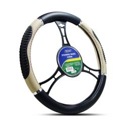 Trenz Steering Wheel Handle Cover 38cm Diameter TSHC-H741-38-BK/BE image here