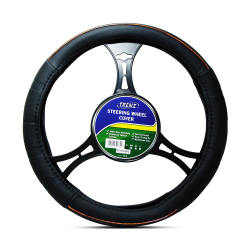 Trenz Steering Wheel Handle Cover 38cm Diameter TSHC-H602-38-BK/WO image here