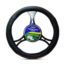 Trenz Steering Wheel Handle Cover 36cm Diameter TSHC-H602-36-BK/WO image here