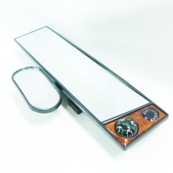 Trenz Rearview Mirror with Compass and Thermometer TMR-Y8158 image here