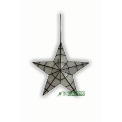 CAPIZ CHRISTMAS LANTERN - SMALL image here