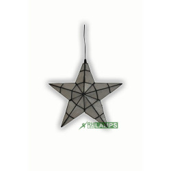 Capiz Christmas Lantern - Mini Star image here