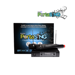 Tronix,PortaSING - Videoke/Karaoke, Movie Player & Music Player in ONE,black,PPTS-00001 image here