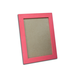 Tronix,Wood A4 Picture Frame - Fuschia Pink,pink,ISPF-00046 image here