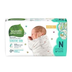 Seventh Generation |Free and Clear Baby Diapers New Born image here